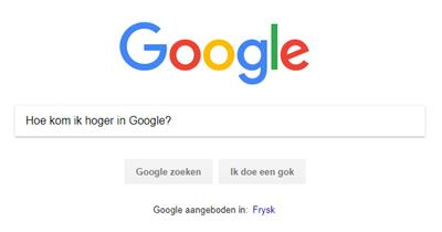 bovenaan-in-google