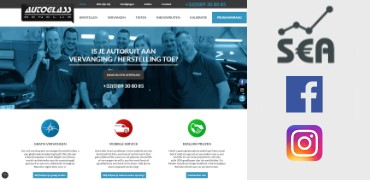 Totaalpakket voor Autoglass Benelux: Website en online marketing