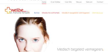 Professionele website voor Wellbe