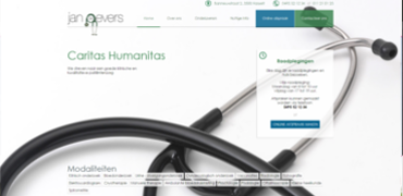 Responsive website voor Dokter Jan Gevers