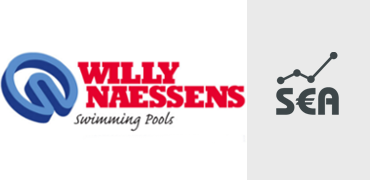 Google AdWords voor Willy Naessens Swimming Pools