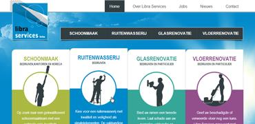 Professionele website voor Libra Services