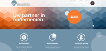 Responsive website voor BPG Accountants & Belastingconsulenten