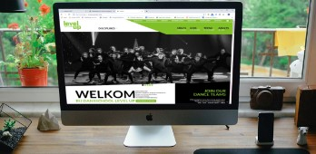 Nieuwe website voor Dance School Level Up