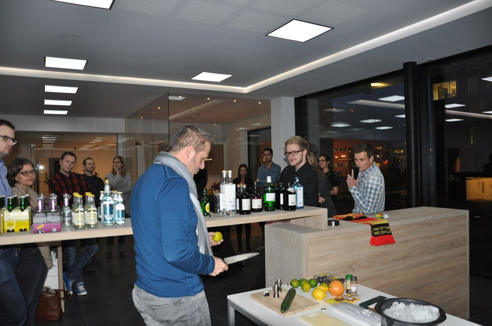 Analyz-it gin-tasting voorbereiding