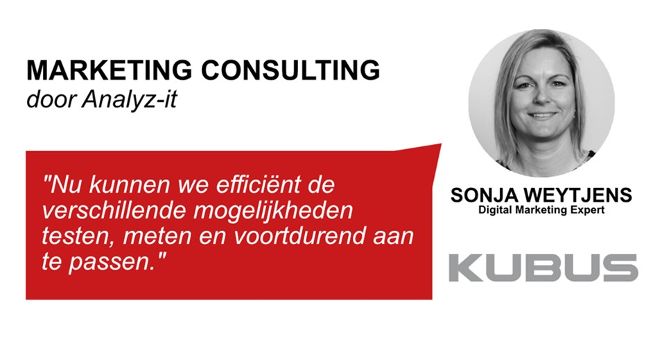 Marketing consultant voor KUBUS